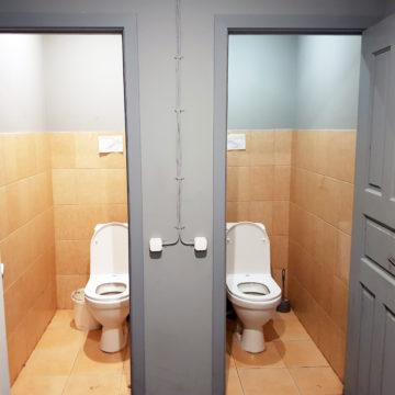 Туалеты в общежитии
